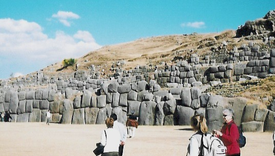 How did the Incas precisely cut, fit and place the 125 ton stones?